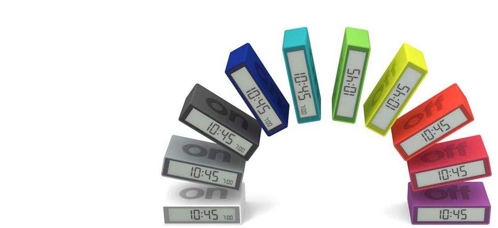 Alarm Clock Flip by Lexon Design