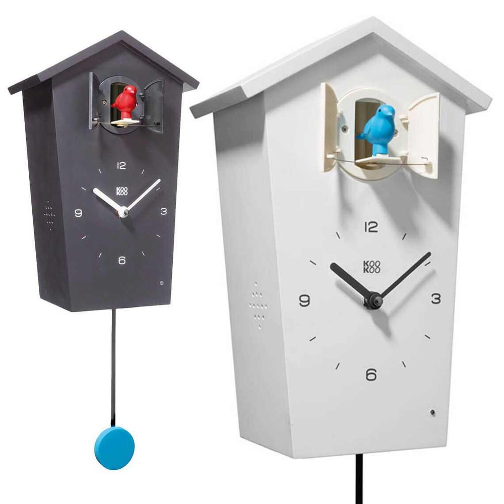Modern Cuckoo Clock Kookoo Birdhouse The Design Gift Shop