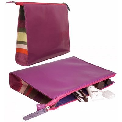 Corban & Blair - Toiletry Bag - Col.our - Lilac
