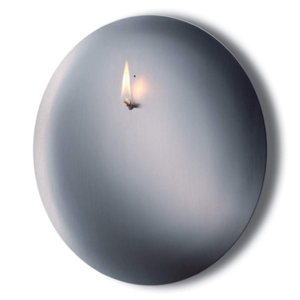 MONO CONVEX - ø 26 cm wall mounted oil lamp