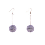 Mon Bijou - Drop Earrings - Cote d'Azur Grey | The Design Gift Shop