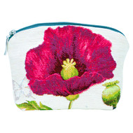 Cosmetic Bag French Tapestry Poppy Front