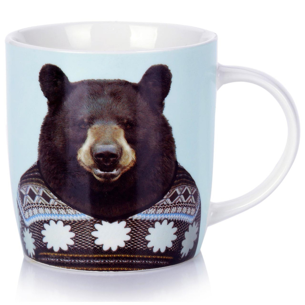 Porcelain Mug Bear | The Design Gift Shop