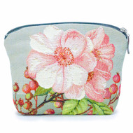 Cosmetic Bag French Tapestry Apple Tree Front