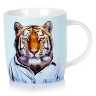 Porcelain Mug Tiger