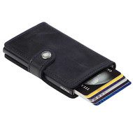 Secrid miniwallet vintage black leather