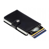 Secrid miniwallet original black leather | The Design Gift Shop