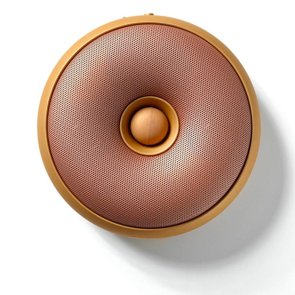 LEXON Hoop Bluetooth Speaker LA95 Copper | The Design Gift Shop