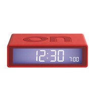 LEXON Flip LCD alarm clock LR130 red | The Design Gift Shop