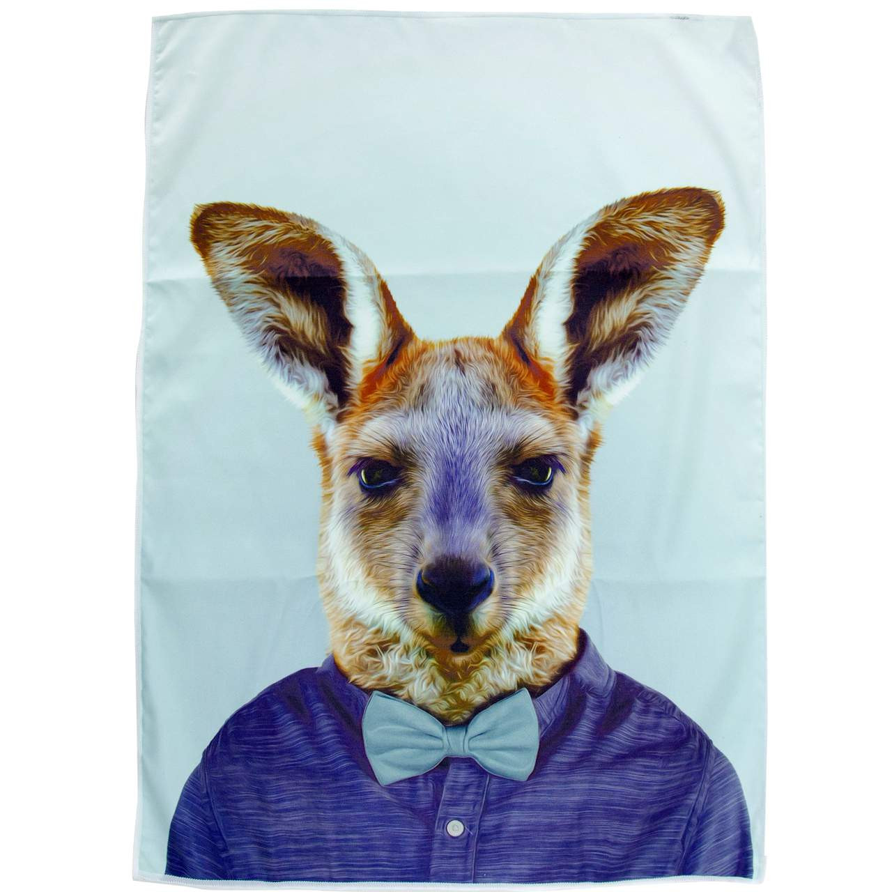Annabel Trends Tea Towel Kangaroo The Design Gift Shop