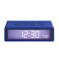 LEXON Flip LCD alarm clock LR130B6 blue | The Design Gift Shop