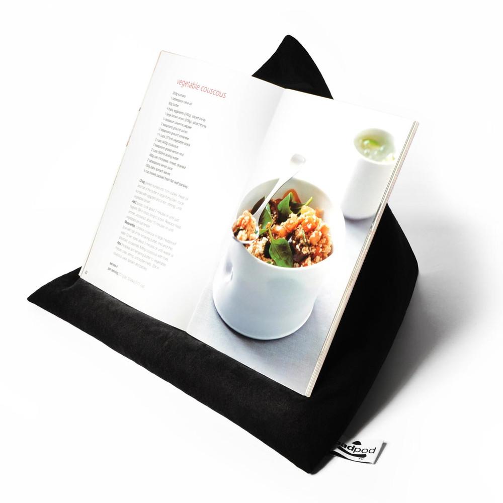 PADPOD iPad / tablet cushion black | The Design Gift Shop