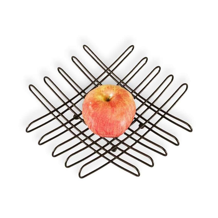 bendo grid luxe fruit bowl black | The Design Gift Shop