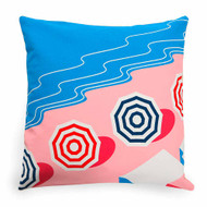 Cushion Cover 'Beach' by Jean-Vier | The Design Gift Shop