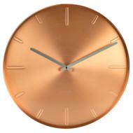 Karlsson Belt Copper Wall Clock - Ø 40cm x 3.5cm