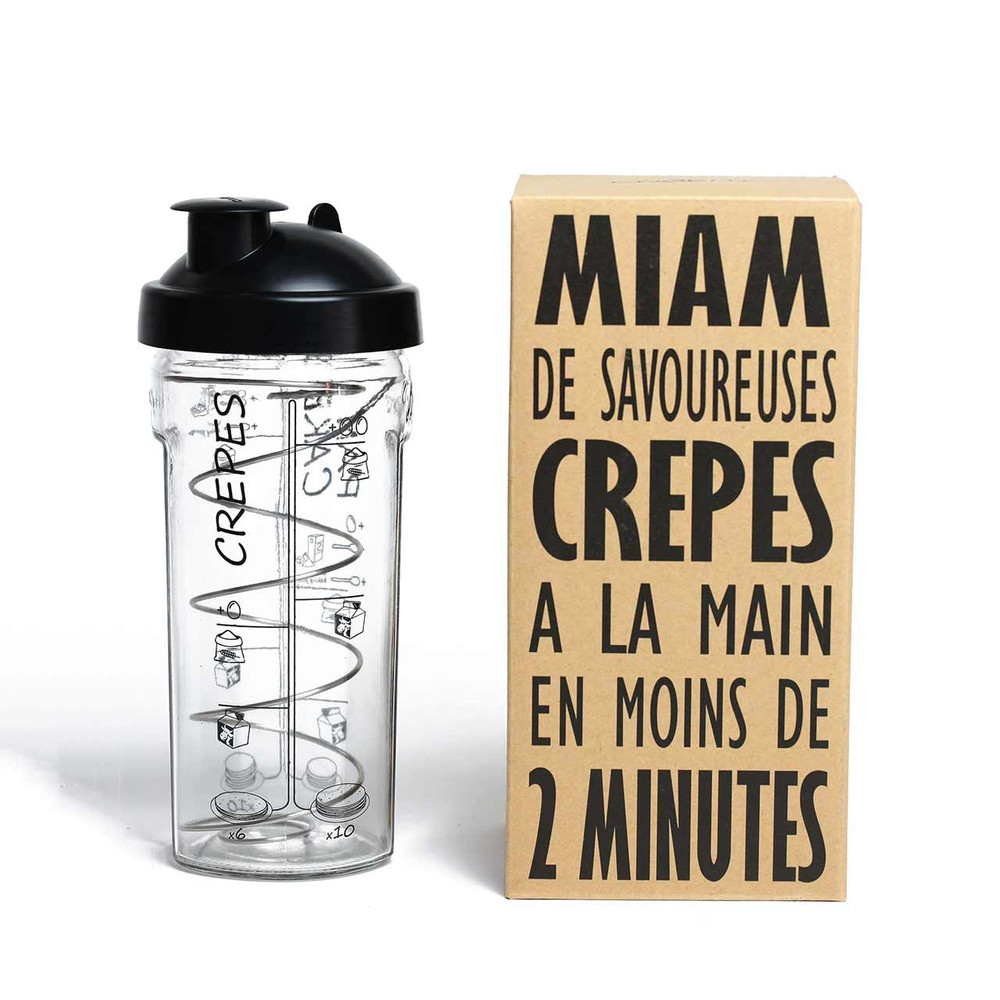 Pancake & Crepes Shaker 'Miam' by COOKUT | The Design Gift Shop