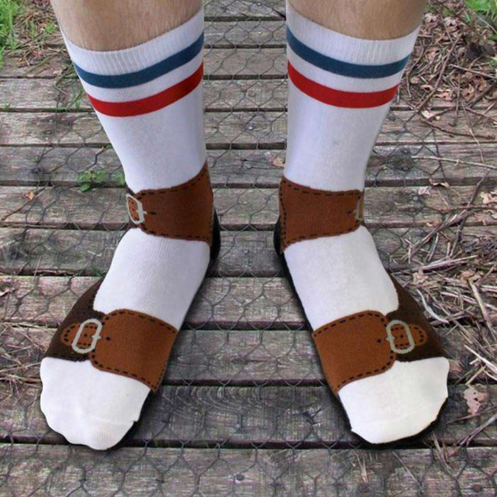 Quirky Sandals Socks by Ginger Fox   The Design Gift Shop
