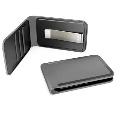 DOSH LUXE WALLET, 3 card and money clip, Style Clooney