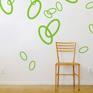 BLIK WALL DECALS, Motive ORGANIC, Colour KIWI