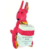 THURLBY Bush Babies - KANGAROO with 125 gm natural fragrance free soap