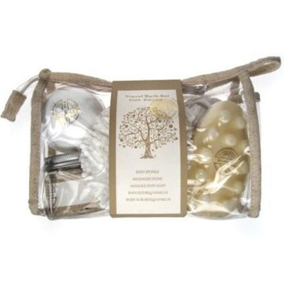 STAR & ROSE - NATURAL HOME COLLECTION - 5 piece travel set