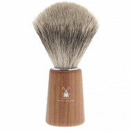 Muhle Shaving Basic H22 shaving brush, fine best badger hair, handle plum wood