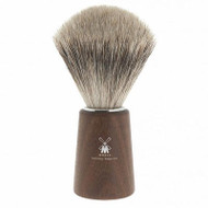 Muhle Shaving Basic H24 shaving brush, fine best badger hair, handle Acacia wood