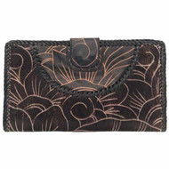 NAOMI LEVI - FUNKY FUR Purse - large clutch,  colour BLACK
