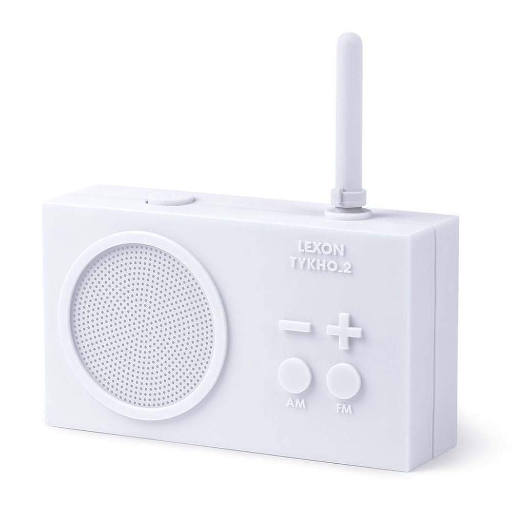 LEXON TYKHO FM/AM RADIO LA100W - WHITE