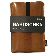 DEKOOP | iPhone, iPod & Blackberry Case | Babuschka Leather Brown