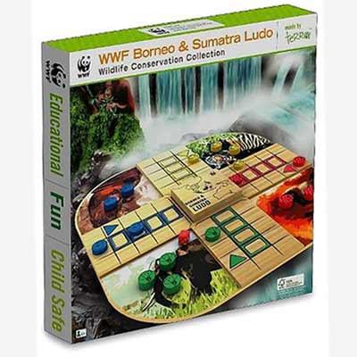 WWF - Borneo and Sumatra Ludo - Bord Game
