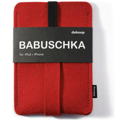 dekoop Babuschka - Red felt Phone Case