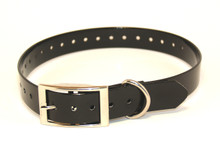 Waterproof, flexible and tough TPU dog collar fits necks up to 60cm