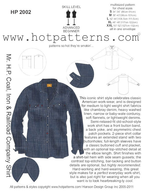 HP 40 Mr HP Coal Iron Railroad Company Shirt HotPatterns Beauteous Hot Patterns