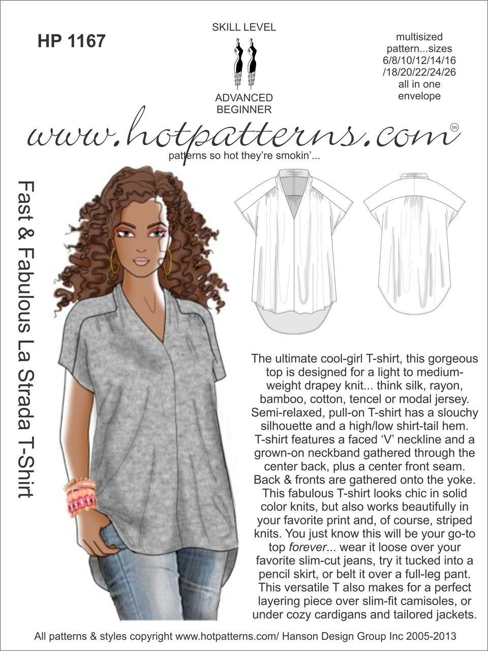 HP 1167 Fast & Fabulous La Strada T-Shirt