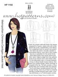 HP 1192 download Metropolitan Chimera Cardigan-Jacket-Vest