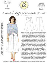HP 1194 A4 & letter download Fast & Fabulous Pull-On A-Line Skirt