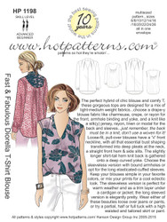HP 1198 Fast & Fabulous Diorella T-Shirt Blouse