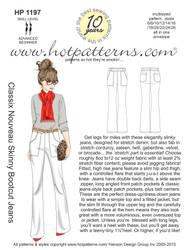 HP 1197 letter download Classix Nouveau Skinny Bootcut Jeans