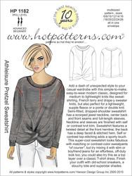 HP 1182 Athleisure Pretzel Sweatshirt