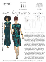 HP 1120 letter download Classix Nouveau Primavera Dress