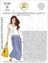 HP 1202 Fast & Fabulous Casbah Maxi Skirt