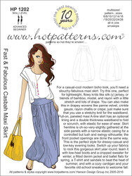 HP 1202 A4 download Fast & Fabulous Casbah Maxi Skirt