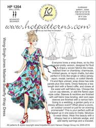HP 1204 Wong-Singh-Jones Madame Butterfly Wrap Dress