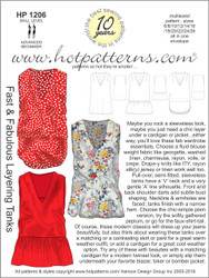 HP 1206 A4 and letter download Fast & Fabulous Layering Tanks
