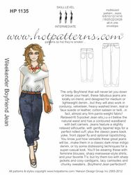 HP 1135 A4 & letter download Weekender Boyfriend Jeans