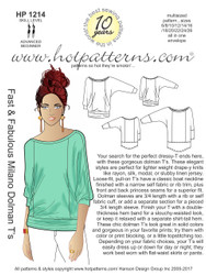 HP 1214 A4 download Fast & Fabulous Milano Dolman T's