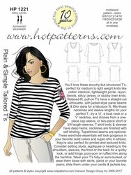 HP 1221 Plain & Simple Tailored T's