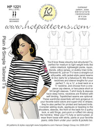 HP 1221 A4 AND letter download Plain & Simple Tailored T's