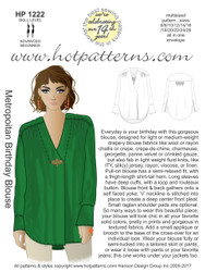 HP 1222 Metropolitan Birthday Blouse
